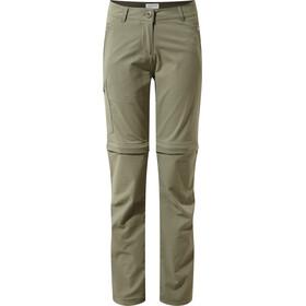 Craghoppers NosiLife Pro II Convertible Pantaloni Donna, verde oliva
